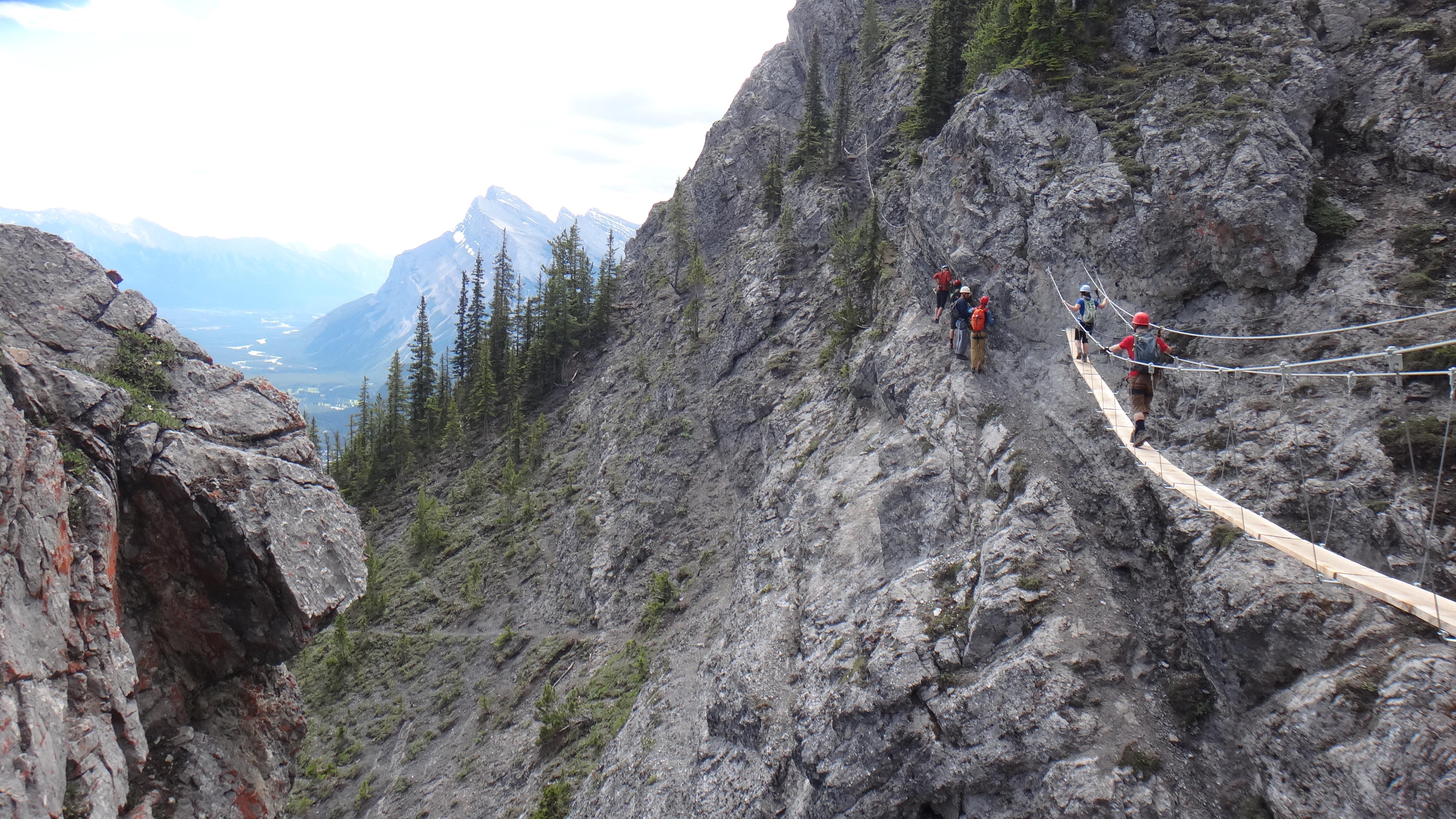 Banff Norquay Via Ferrata Random Eating Adventures